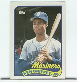 Ken Griffey Jr. 1989 Topps Traded Rookie Card #41T