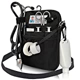 VIPOKO Nurse Nanny Pack with Stethoscope Holder, Nurse Tool Belt Women 4 in 1 Convertible Nursing...