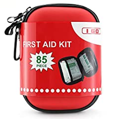 ✔【Essential Preparedness Kit】: Contains 85 essential first aid supplies for treating common cuts, scrapes, minor aches and injuries, will prepare you for any potential emergency at home, in the office or on the go ✔【Safety Medical Kit】: Safety approv...