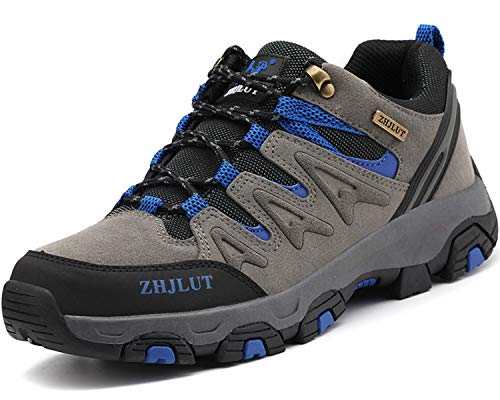 Lvptsh Wanderschuhe Herren Trekkingschuhe Damen Anti-Rutsch Outdoorschuhe Walkingschuhe Hiking Sneaker Wanderstiefel Atmungsaktiv Wanderhalbschuhe Kletterschuhe Walking Wandern 36-47