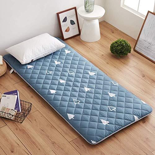 Matras, eenvoudige tattami, pluizige matras, tapijt, tattami, verdikking, zachte matras, slaapkamer, Japans slaapkamer 90x200cm(35x79inch) D
