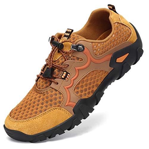 Flarut Sandalias Deportivas Trekking Hombres Verano Zapatos Casuales Transpirable Zapatilla de Senderismo Deportes