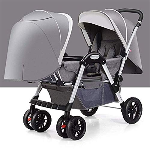 Buy Discount Gflyme Stroller Twin Baby Strollers Can Sit On A High Landscape, Light and Easy to Fold...