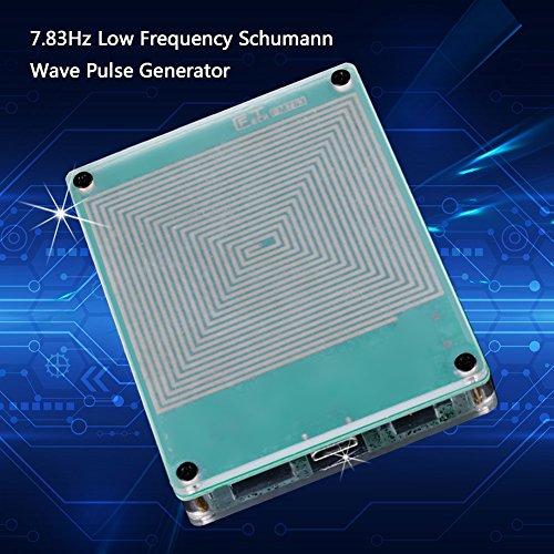 7.83HZ Schumann Wellen Niedrigfrequenzimpuls Generator u. Audio-Resonator, 7.83Hz Ultra Low Frequency Schumann-Wellenimpulsgenerator mit USB-Kabel/Schraubendreher, hoher Genauigkeit und Stabilität