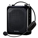 Voice Amplifier with Wireless Microphone Headset, 25W Echo Sound Bluetooth Mini Pa System Portable Voice amplification, 4000mAh Rechargeable Mic Speaker for Teachers/Classroom/Elderly ect