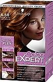Schwarzkopf Color Expert Intensiv-Pflege Color-Creme, 6.68 Haselnuss Hellbraun Stufe 3, 3er Pack (3...