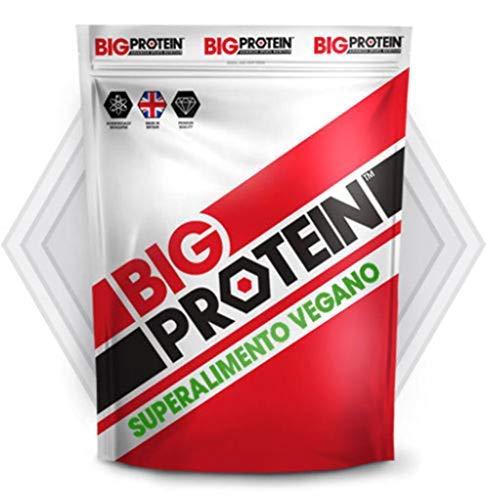 Proteína Vegetal en Polvo para Ganar Masa Muscular | Suplemento Deportivo de Proteína Vegana para Batidos | Ideal en Entrenamiento Sin Azúcar Añadida | Sabor Frutos del Bosque | 2,100 Kg.