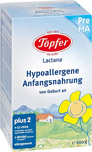 TÖPFER Lactana Pre HA Pulver 600 g