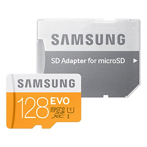 『Samsung microSDXCカード 128GB EVO Class10 UHS-I対応 (最大転送速度48MB/s) MB-MP128DA/FFP』のトップ画像