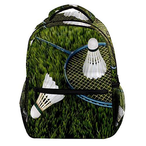 Badminton Schläger Große Kapazitäts-Rucksack-Unisexrucksack-Mode-dauerhafte Reisetasche für das Kampieren, Einkaufen, kletternd 29.4x20x40cm