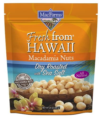 Sea Salt Macadamia Nuts Perfectly Roasted With A Dash Of Sea Salt Royal Hawaiian Orchards Macfarms Llc