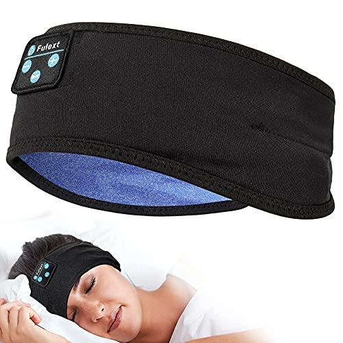 Voerou Sleep Headphones, Bluetooth Sleeping Headphones Sports Headband with Ultra-Thin Speakers, Headphones for Sleeping,Side Sleepers, Running, Workout, Travel, Yoga, Insomnia, Meditation