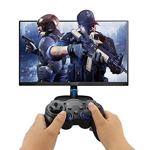 2.4G draadloze gamecontroller joystick gamecontroller met USB-ontvanger voor PS3 Android TV-box