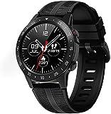 Smart Herrenarmband, Blutdruck, Herzfrequenzmesser, Schlaf-Fitness-Tracker, Bluetooth-SMS-Benachrichtigung, IP67 wasserdichte Smartwatch