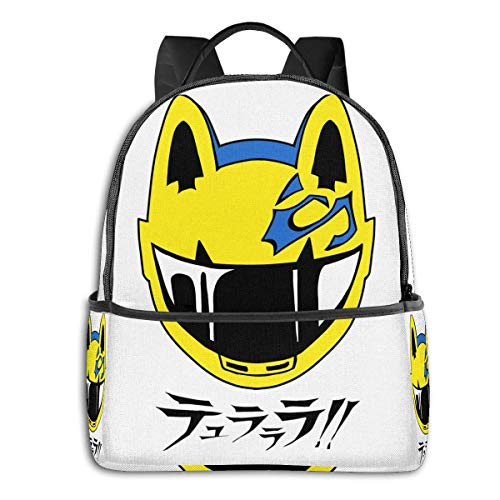 IUBBKI Anime & Celty Classic Student School Bag School Cycling Leisure Travel Camping Outdoor Backpack