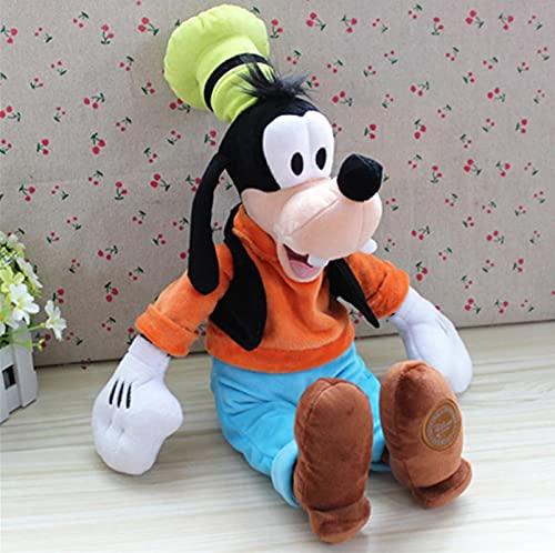 WPQL Juguete De Peluche para Perro Goofy, Juguetes Blandos De Animales De Dibujos Animados, Muñeco De Abrazo Gordito, para Niños, Cumpleaños,, 35 Cm