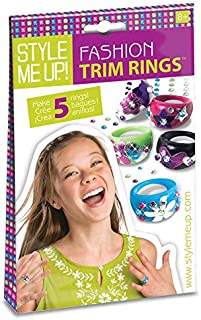 Style Me Up! - DIY Ring Making Kit for Kids - Jewelry Making Set for Girls - Creative Crafts for Girls - SMU-401