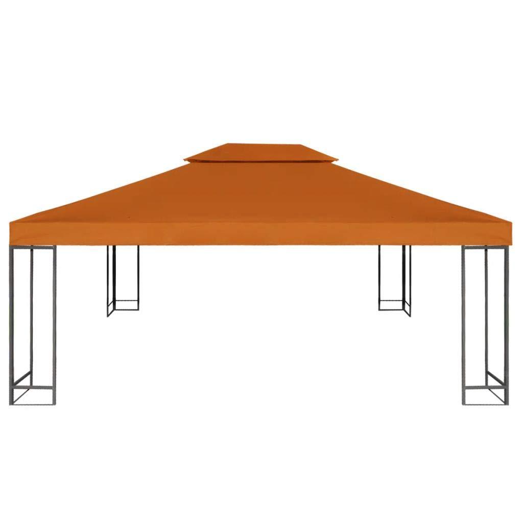 mewmewcat Toldo de Cenador de Repuesto Tela Impermeableo para Carpa Pabellon Toldo Eventos y Bodas Techo Pérgola 310 g/m² 3x4m: Amazon.es: Deportes y aire libre