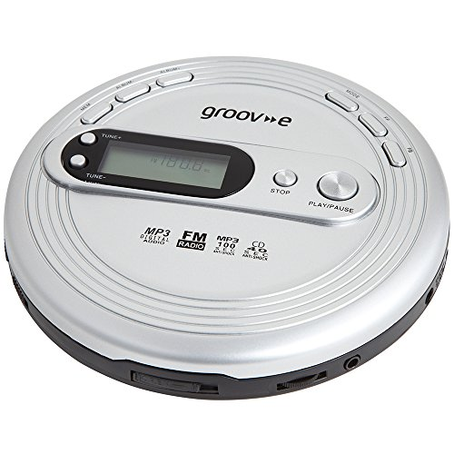 Groov-e Personal MP3 & Radio CD Player with Track...