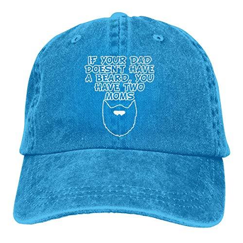 XCNGG Wenn dein Vater keinen Bart hat, hast du Zwei Mütter Unisex Cowboyhüte Sport...