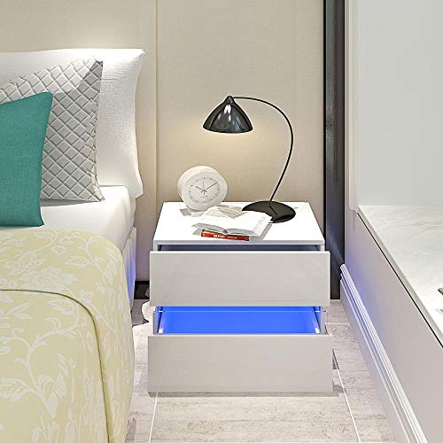 Zuzanny nachtkastje slaapkamermeubel zwart notenhout massief hout nachtkastje bijzettafel kwaliteitsmodel 1 1Pc Zwart_Groot-Brittannië