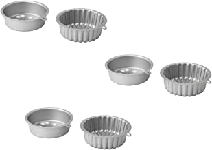 IKEA VARDAGEN Baking pan, silver color Pack of 3, 1 qt Silver