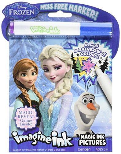 Disney Frozen Imagine Ink Magic Ink Pictures Bendon 10988
