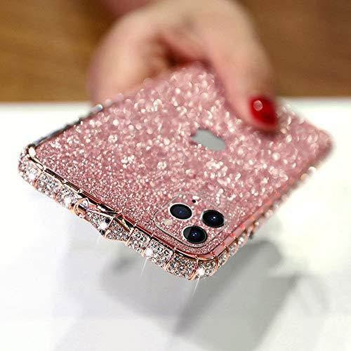 LUVI for iPhone 12 Pro Max Glitter Sticker Case