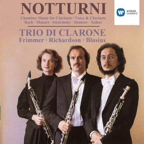 Duo für 2 Klarinetten C-dur Wq 142 (H.636): Nr. 2 Allegro