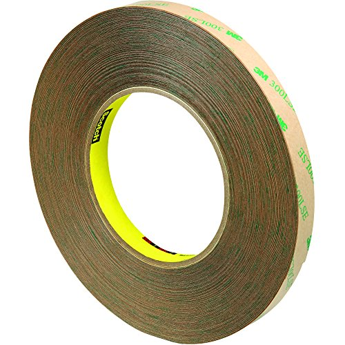 3M 9472LE Adhesive Transfer Tape, Hand Rolls, 5.0 Mil, 1/2