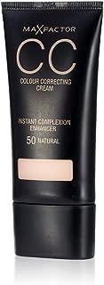 3 x Max Factor CC Colour Correcting Cream SPF10 30ml Sealed - 50 Natural