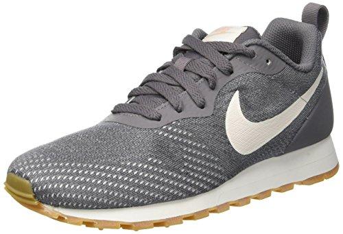 Nike Damen Sneaker Mid Runner 2 Eng Mesh Laufschuhe, Mehrfarbig (Gunsmoke/Guava Ice/Atmosphere Grey 006), 38 EU