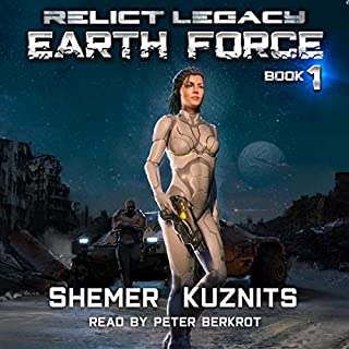 Earth Force audiobook cover art