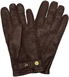 [デンツ] dents ペッカリー 手袋 メンズ レザー グローブ 革 防寒 15-1564 BARK 7.5(75) [並行輸入品]