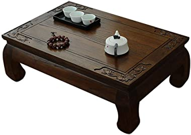 Wooden Coffee Table Living Room Low Coffee Table Small Table for Household Breakfast Table Laptop Table Study Table (Color :