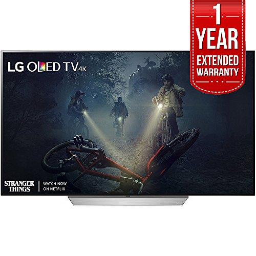 LG C7 OLED 4K HDR Smart TV (2017 Model) Plus Extended 1 Year Warranty Bundle (65-inch)
