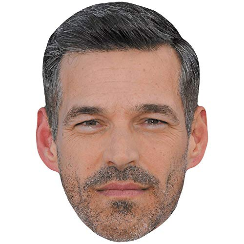 Celebrity Cutouts Eddie Cibrian (Beard) Maske aus Karton