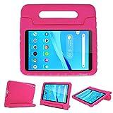 ProCase Kids Case for Lenovo Tab M8 HD/Smart Tab M8/Tab M8 FHD 2019, Lightweight Shockproof Kids Friendly Case for Lenovo M8 TB-8505F TB-8505X TB-8505FS TB-8705F TB-8705N 8.0 Inch Tablet -Magenta