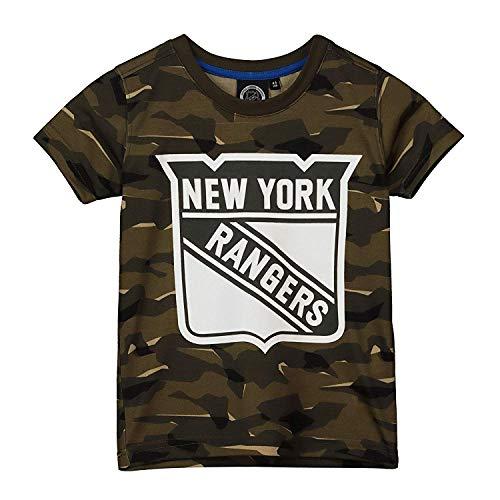 NHL T-Shirt New York NY Rangers Digi Camo Camouflage Logo Eishockey (XXL)