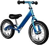 HCMNME Bicicleta Duradera, Bicicletas niños Equilibrio niños Bicicleta de Equilibrio Asiento Ajustable sin Pedal de Empuje y Stride niños y los niños Que Caminan del Deporte de la Bicicleta d