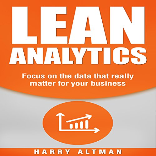 Lean Analytics audiobook cover art