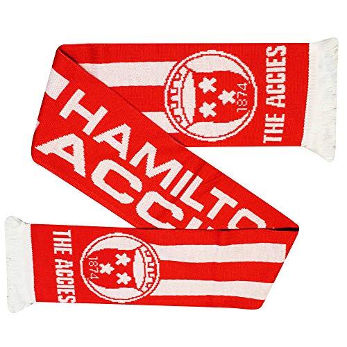Hamilton Academical (Accies Football Fans Scarf (100% Acrylic)