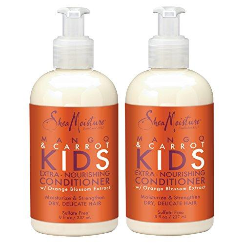 Shea Moisture Mango & Carrot Kids Extra-Nourishing Conditioner 8 oz. by Shea Moisture