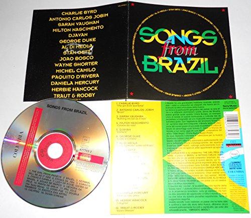 SONGS FROM BRAZIL - Al Di Meola/Getz/Daniela Mercury... (1994) - CD..