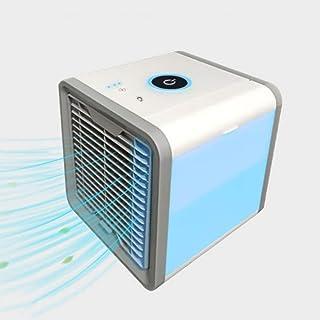 Renbin Aire Acondicionado Móvi Portátil Ventilador Pequeño, Air Cooler Enfriador De Air Personal Y Portátil,para El Hogar/Oficina/habitación,White