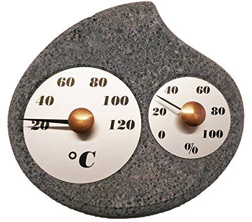 Hukka Design Mainki Sauna Hygro-thermometer luchtvochtigheid. Made in Finland. Saunathermometer leuke sauna-accessoires