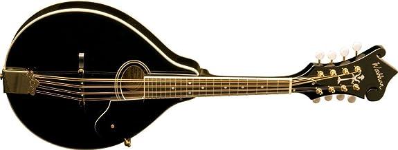 Washburn M1SDLB A-Style Mandolin (Black)