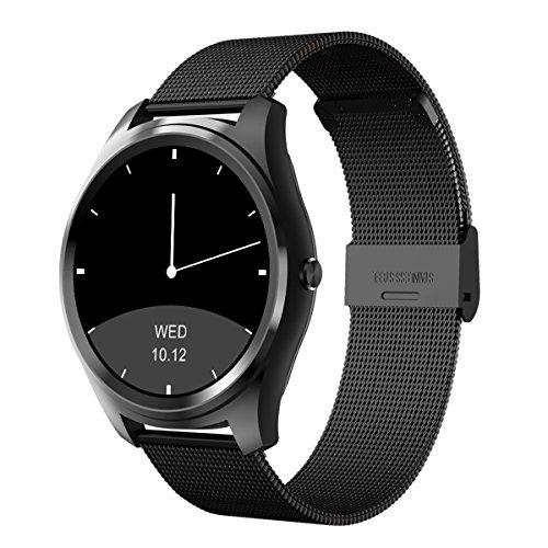 Diggro DI03 Smartwatch Bluetooth per Android iOS Smartphone IPhone Samsung Huawei e SMS Fotocamera Remota IP67 Impermeabile