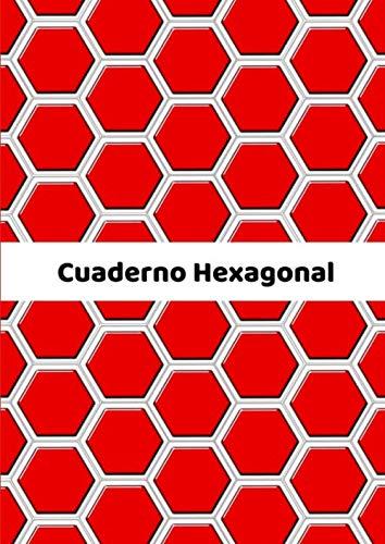 Cuaderno Hexagonal: Cuaderno con papel cuadriculado hexagonal, 100 páginas con hexágonos + 20 páginas con lineas horizontales, Tamaño A4
