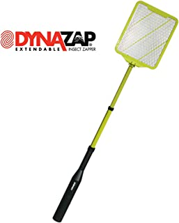 Dynazap DZ30100 Extendable Insect Zapper, Black/Green